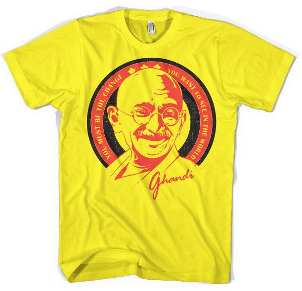 Ghandi Saying T-Shirt