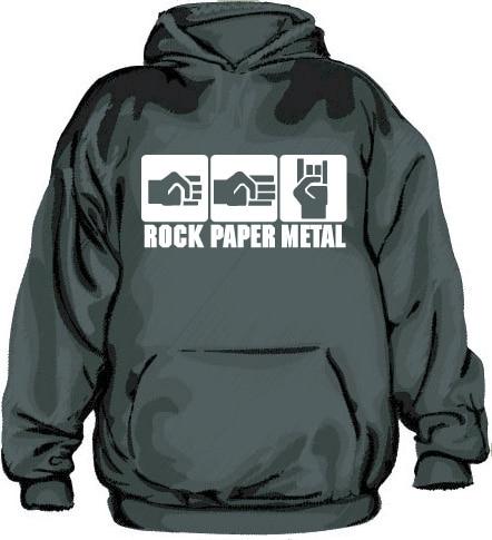 Rock-Paper-Metal Hoodie