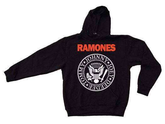 Ramones Logo Hoodie