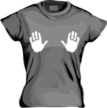 Hands Girly T-shirt