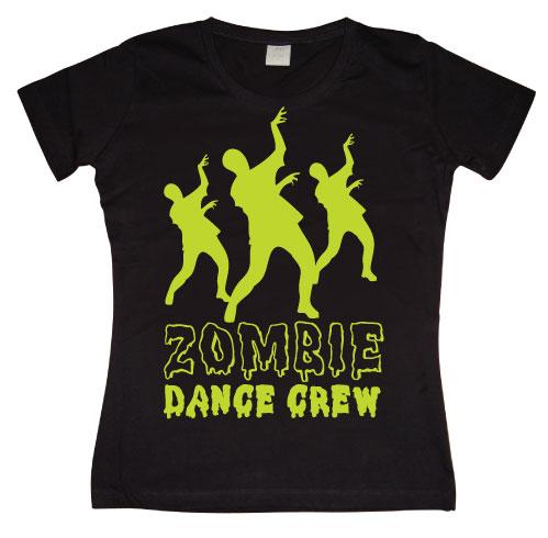 Zombie Dance Crew Girly T-shirt