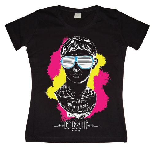 Caesar In Kanye Shades Girly T- shirt