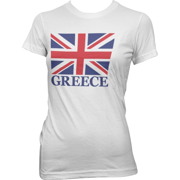 Great Greece Girly T-Shirt