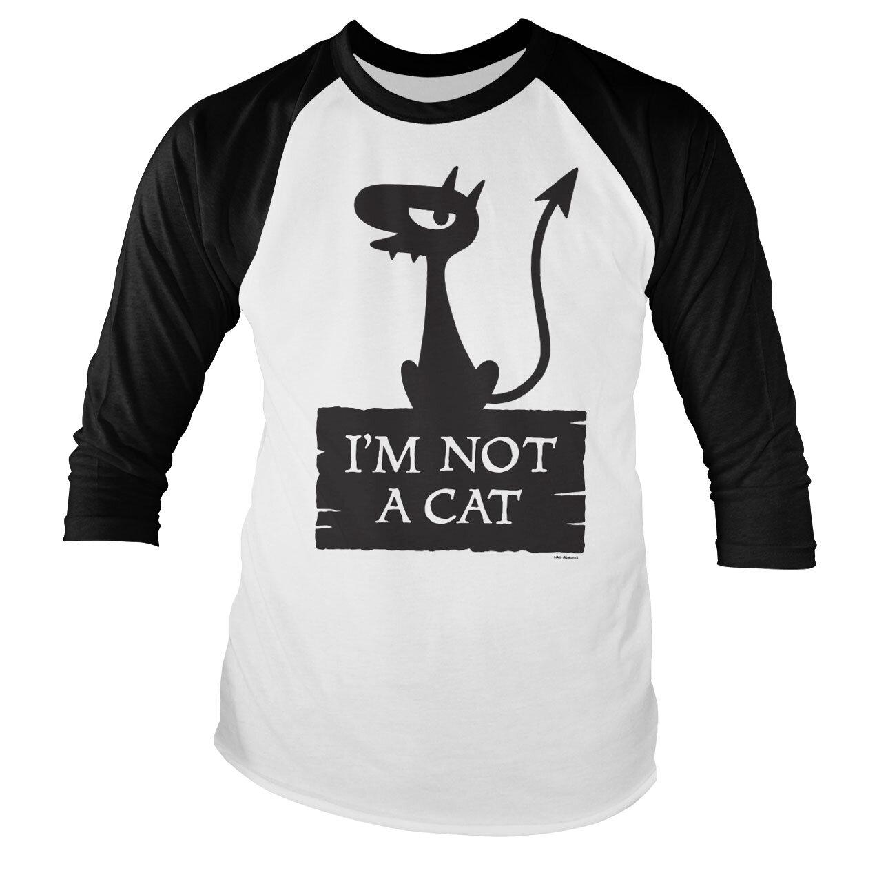 Luci - I'm Not A Cat Baseball Long Sleeve Tee