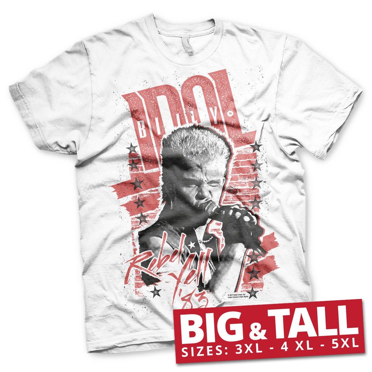 Billy Idol - Rebel Yell '83 Big & Tall T-Shirt