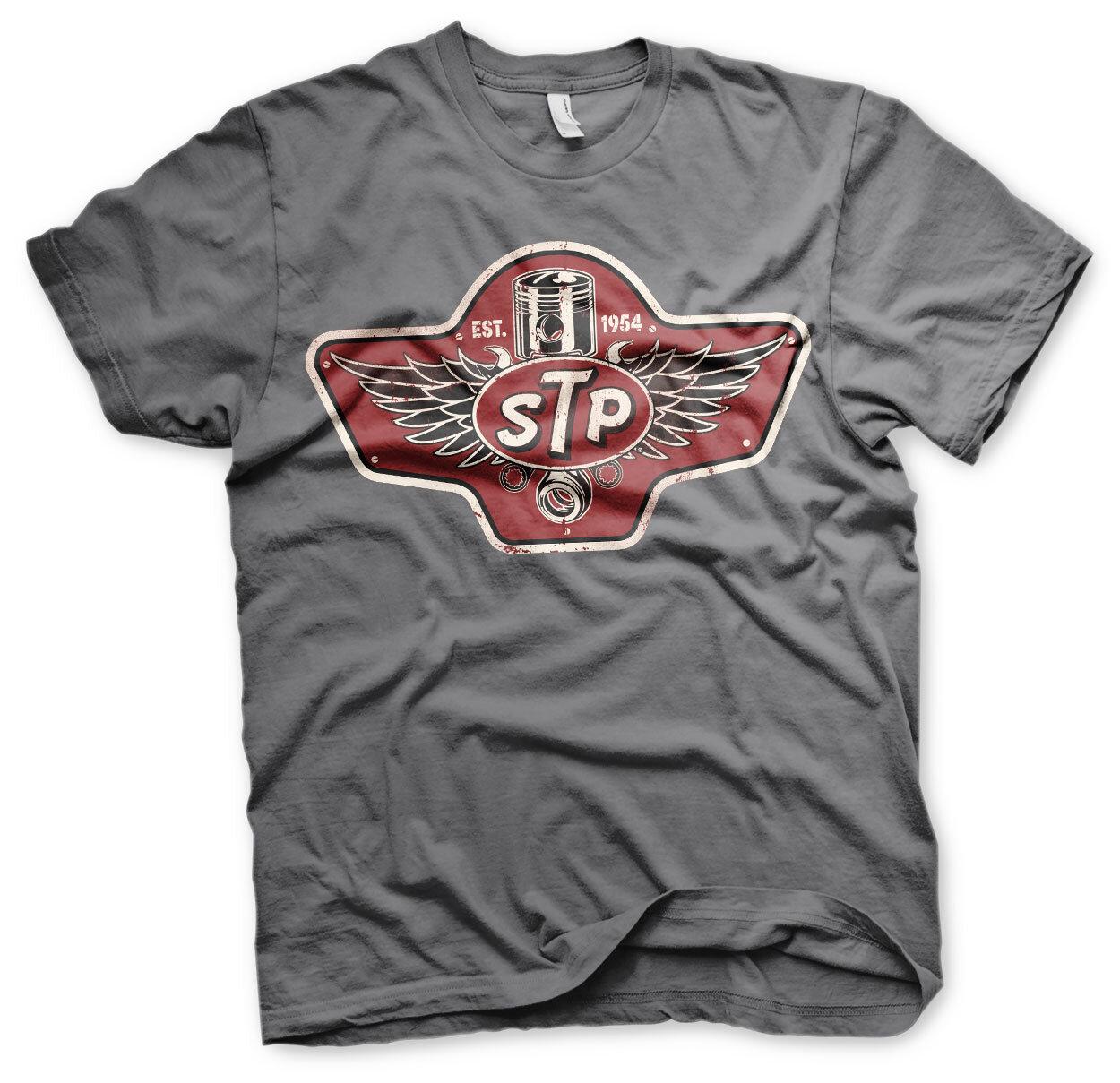 STP Piston Emblem T-Shirt