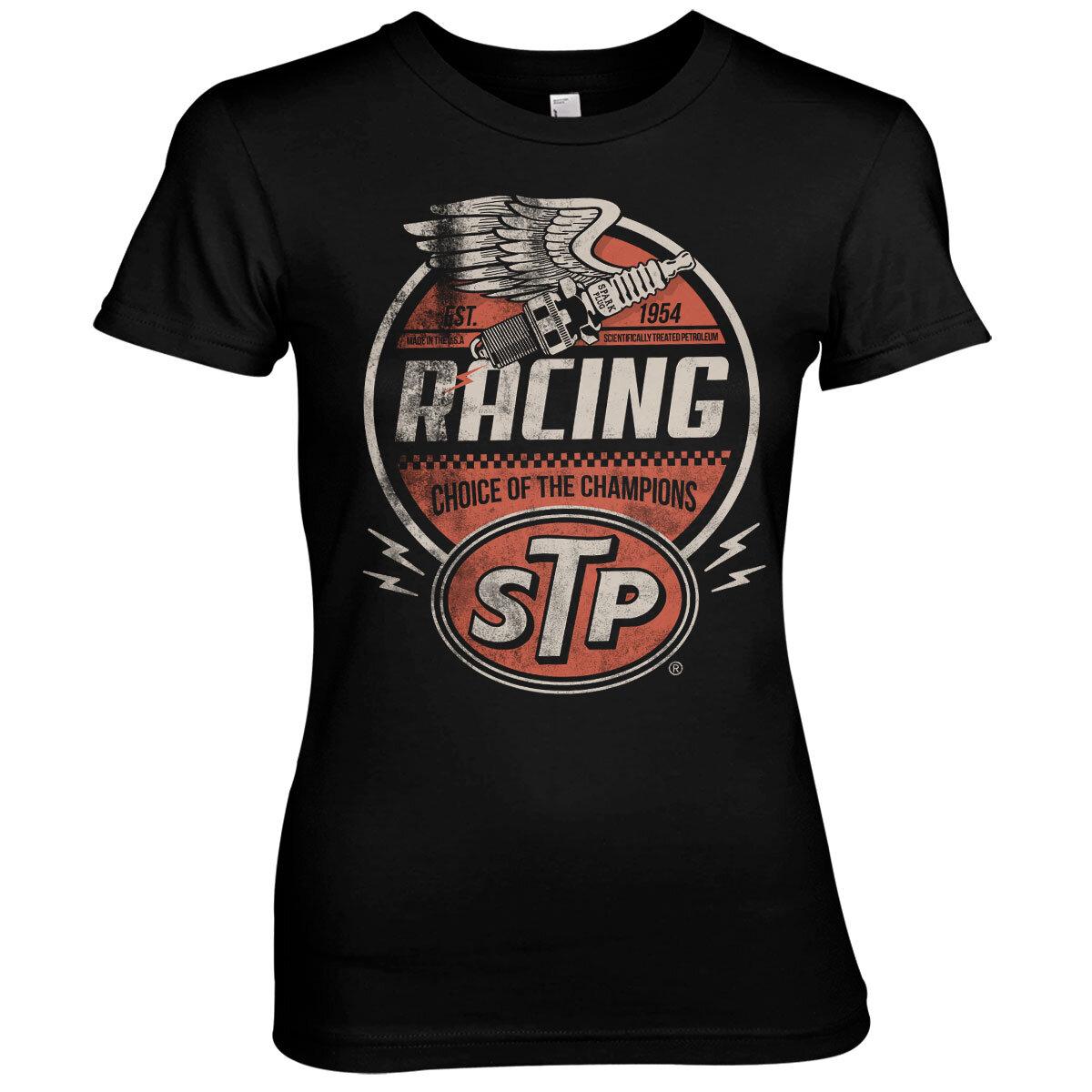 STP Vintage Racing Girly Tee