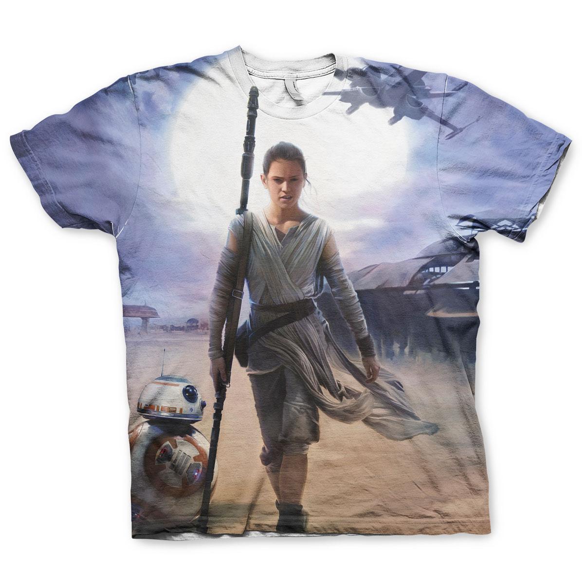 Star Wars Rey Allover T-Shirt