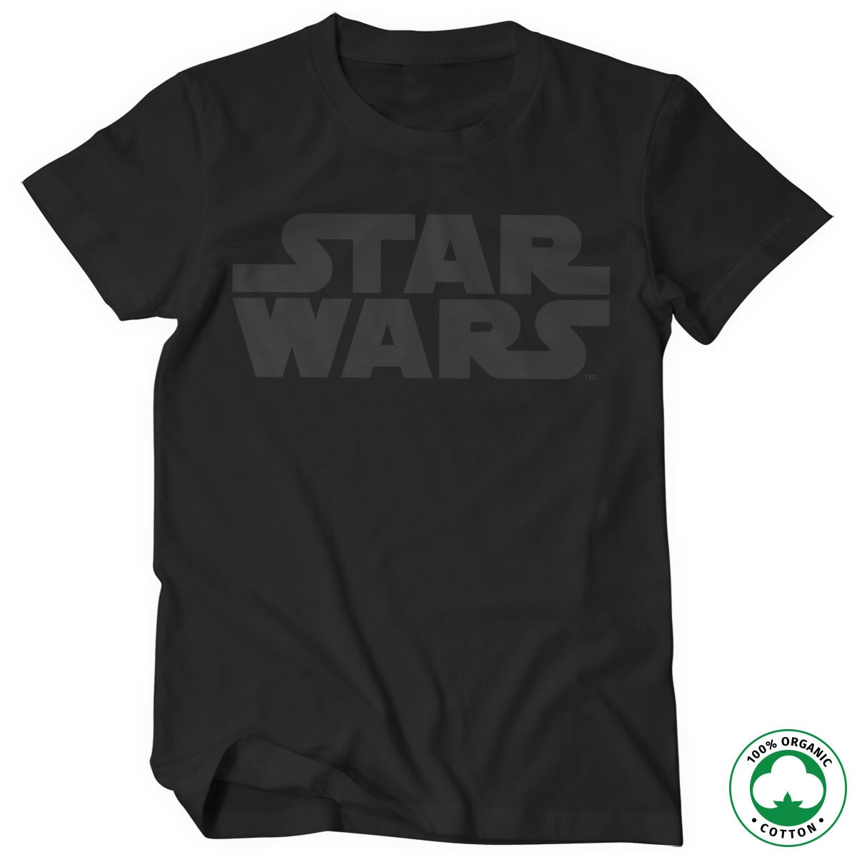 Star Wars Black Logo Organic Tee