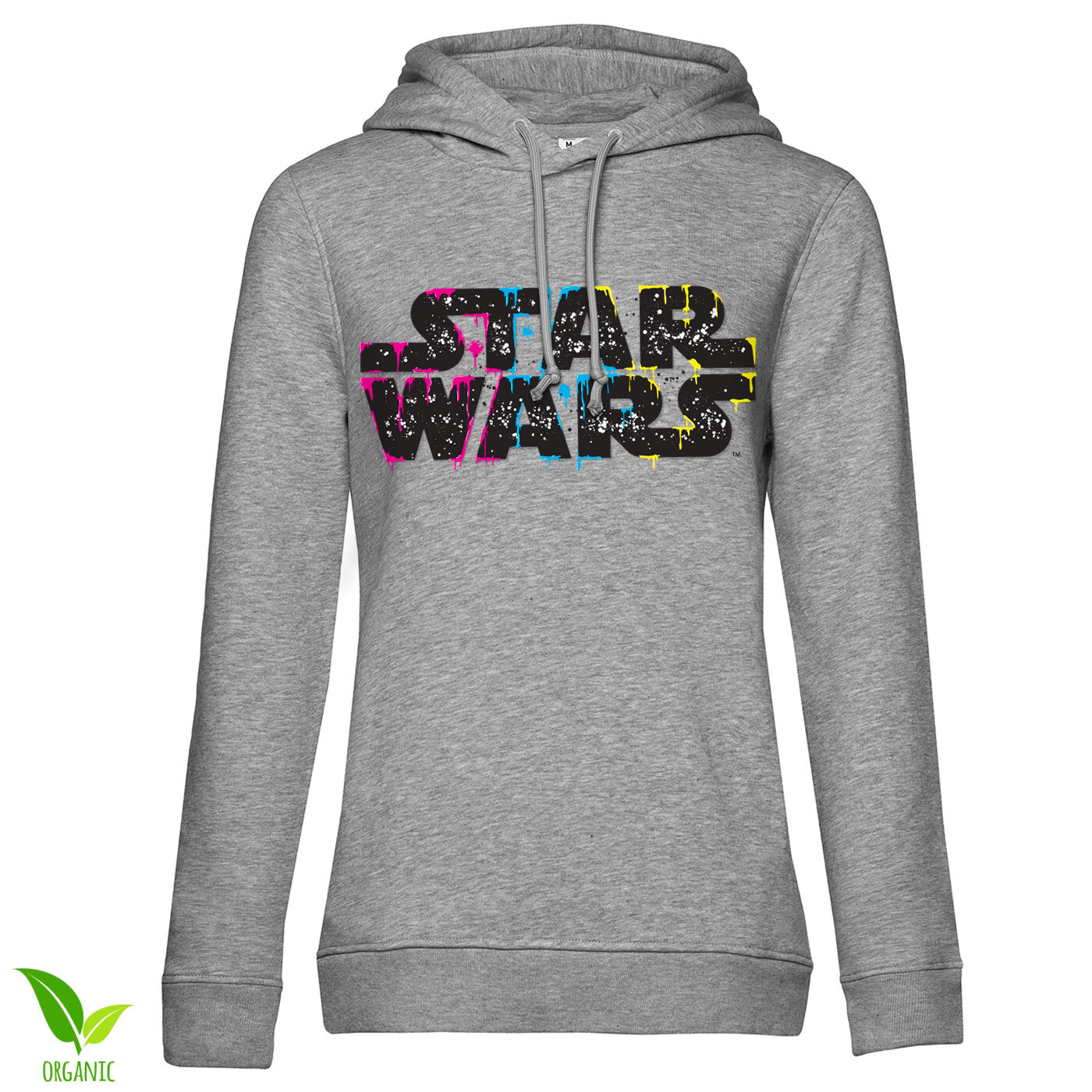 Inked Star Wars Logo Girls Hoodie
