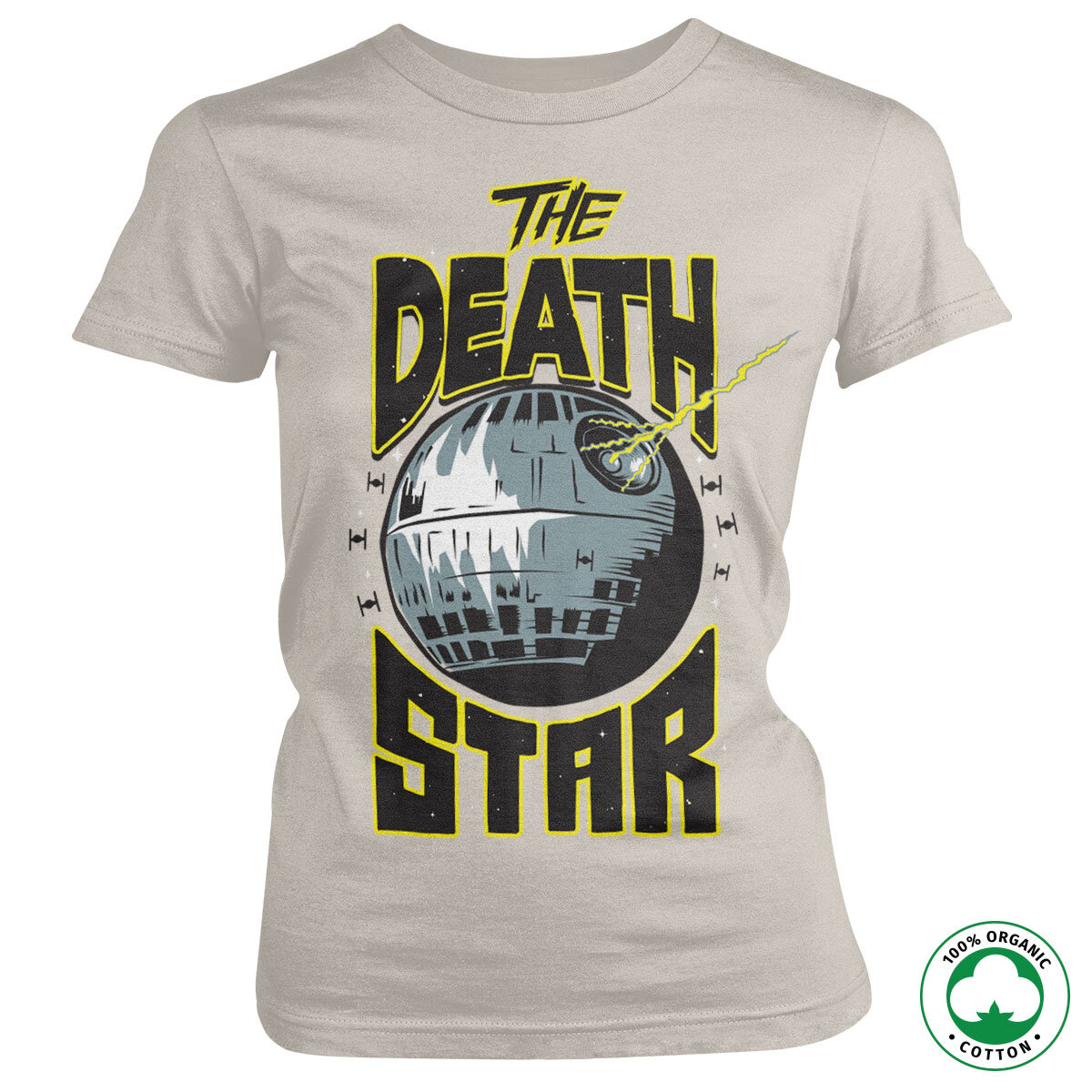 The Death Star Organic Girly Tee