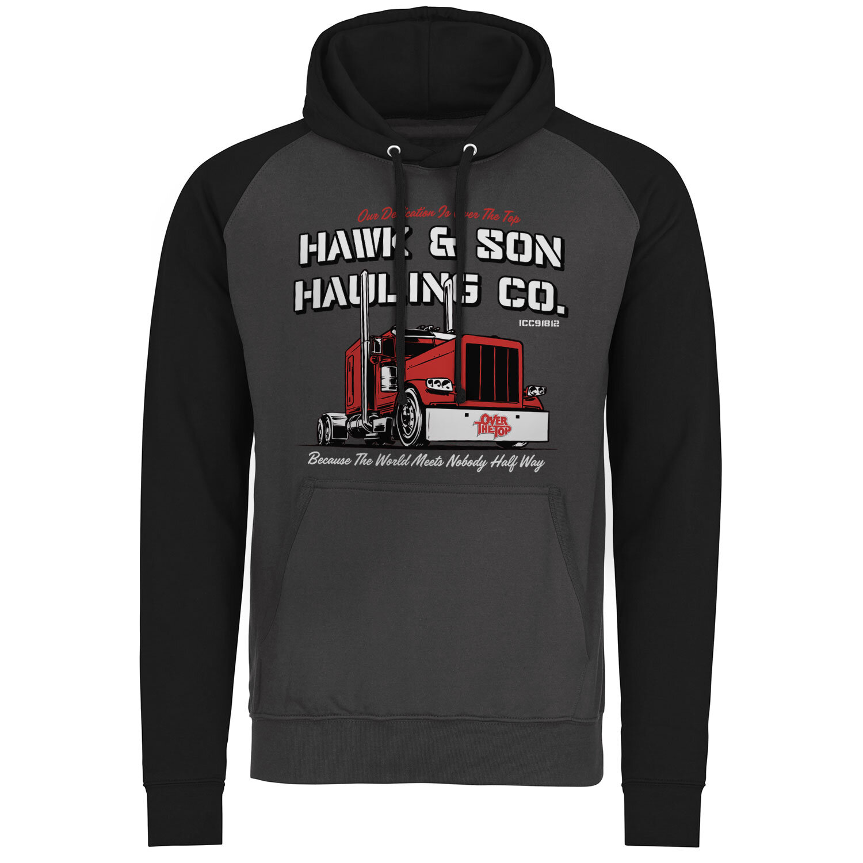 Hawk & Son Hauling Co Baseball Hoodie