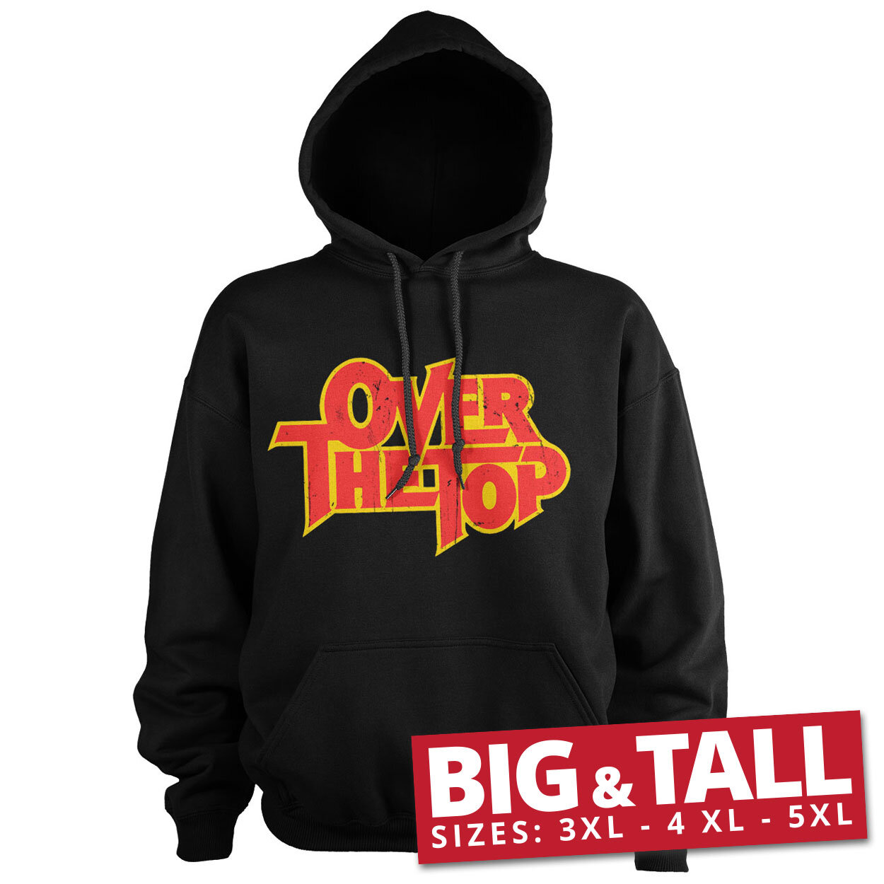 Over The Top Washed Logo Big & Tall Hoodie