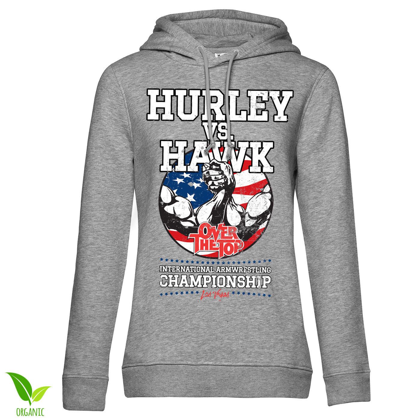 Hurley Vs. Hawk Girly Girls Hoodie