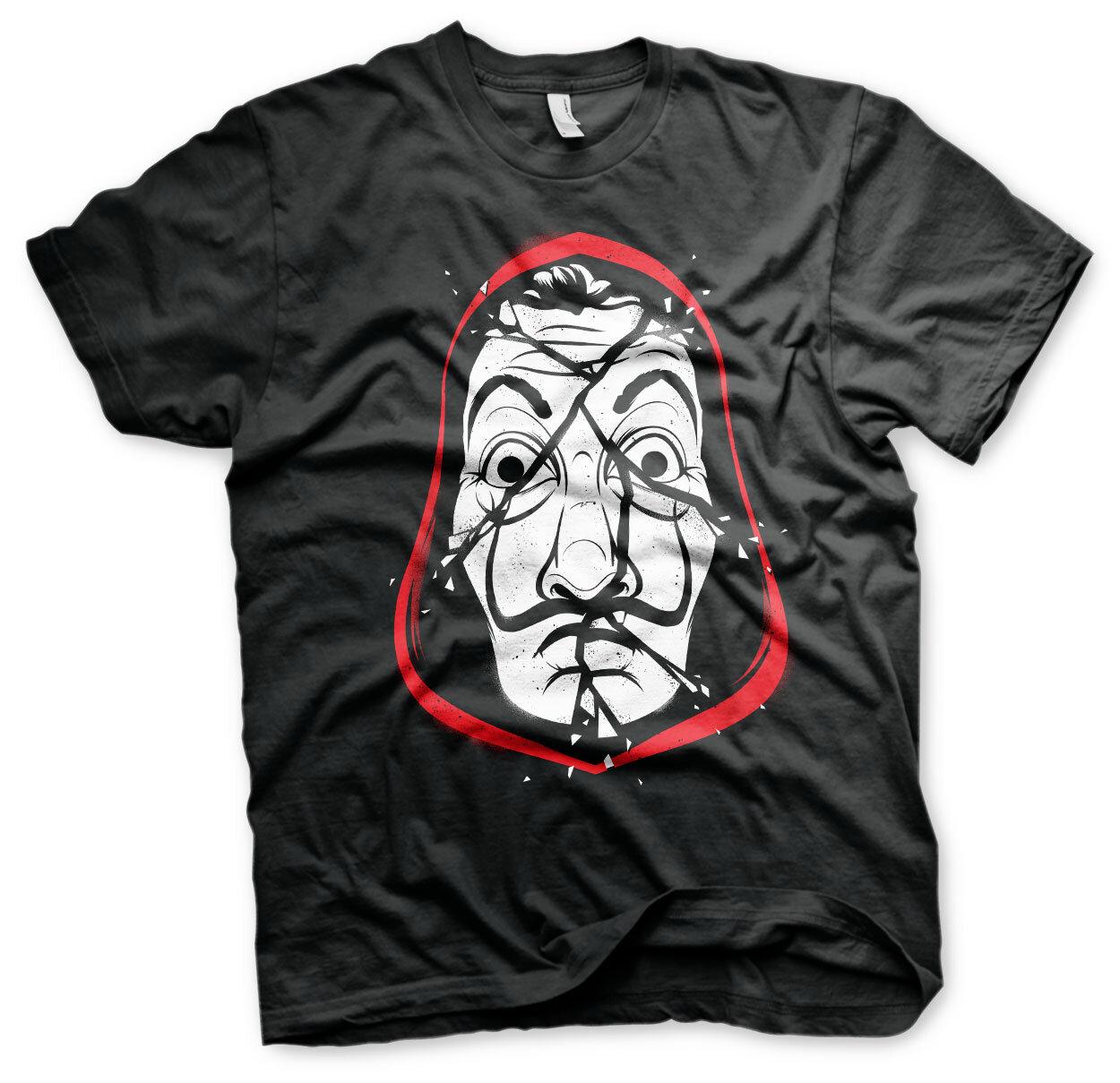 La Casa De Papel Cracked Mask T-Shirt