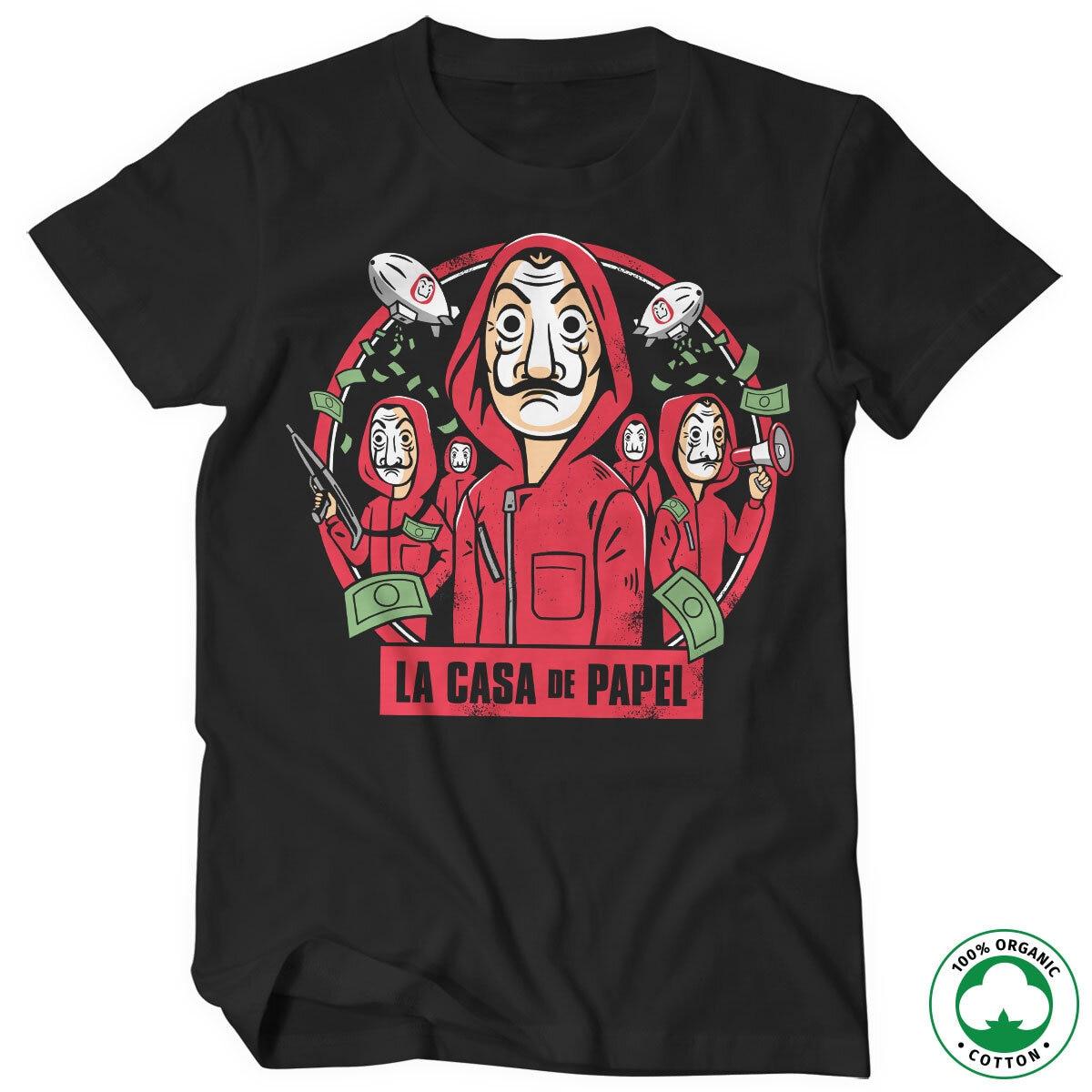 La Casa De Papel Kawaii Organic T-Shirt