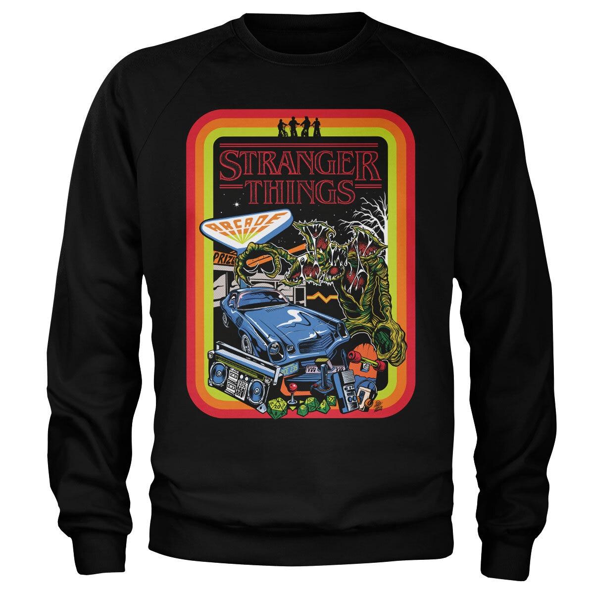 Stranger Things Retro Poster Sweatshirt