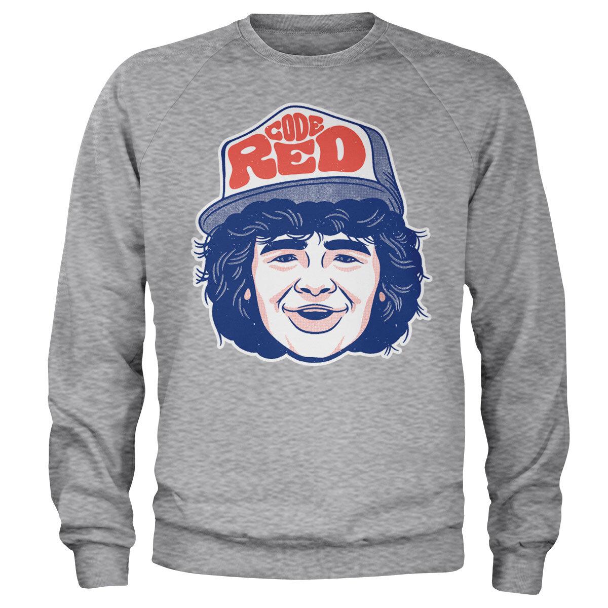 Dustin Code Red Sweatshirt