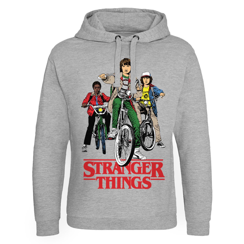 Stranger Things Bikes Epic Hoodie