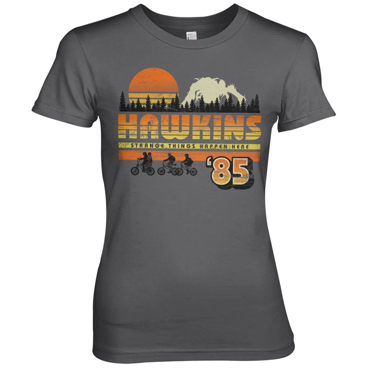 Hawkins '85 Vintage Girly Tee