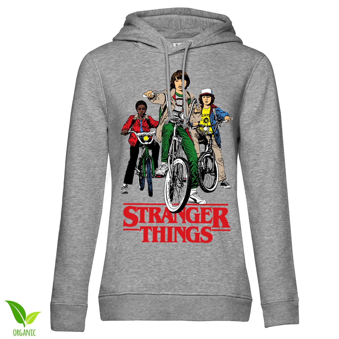 Stranger Things Bikes Girls Hoodie