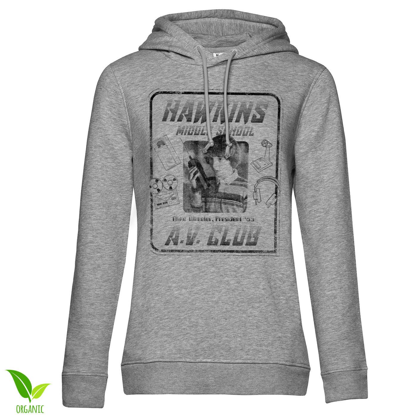 Hawkins A.V. Club Girls Hoodie