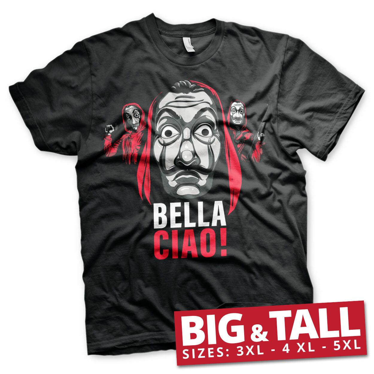 La Casa De Papel - Bella Ciao! Big & Tall T-Shirt
