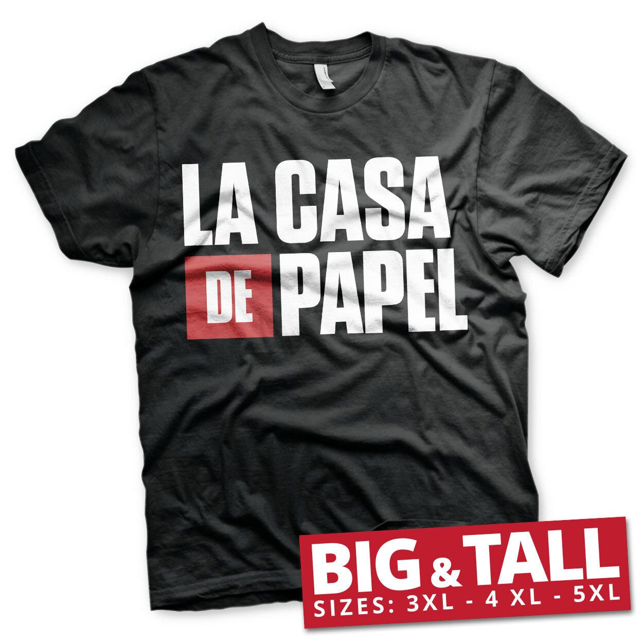 La Casa De Papel Logo Big & Tall T-Shirt