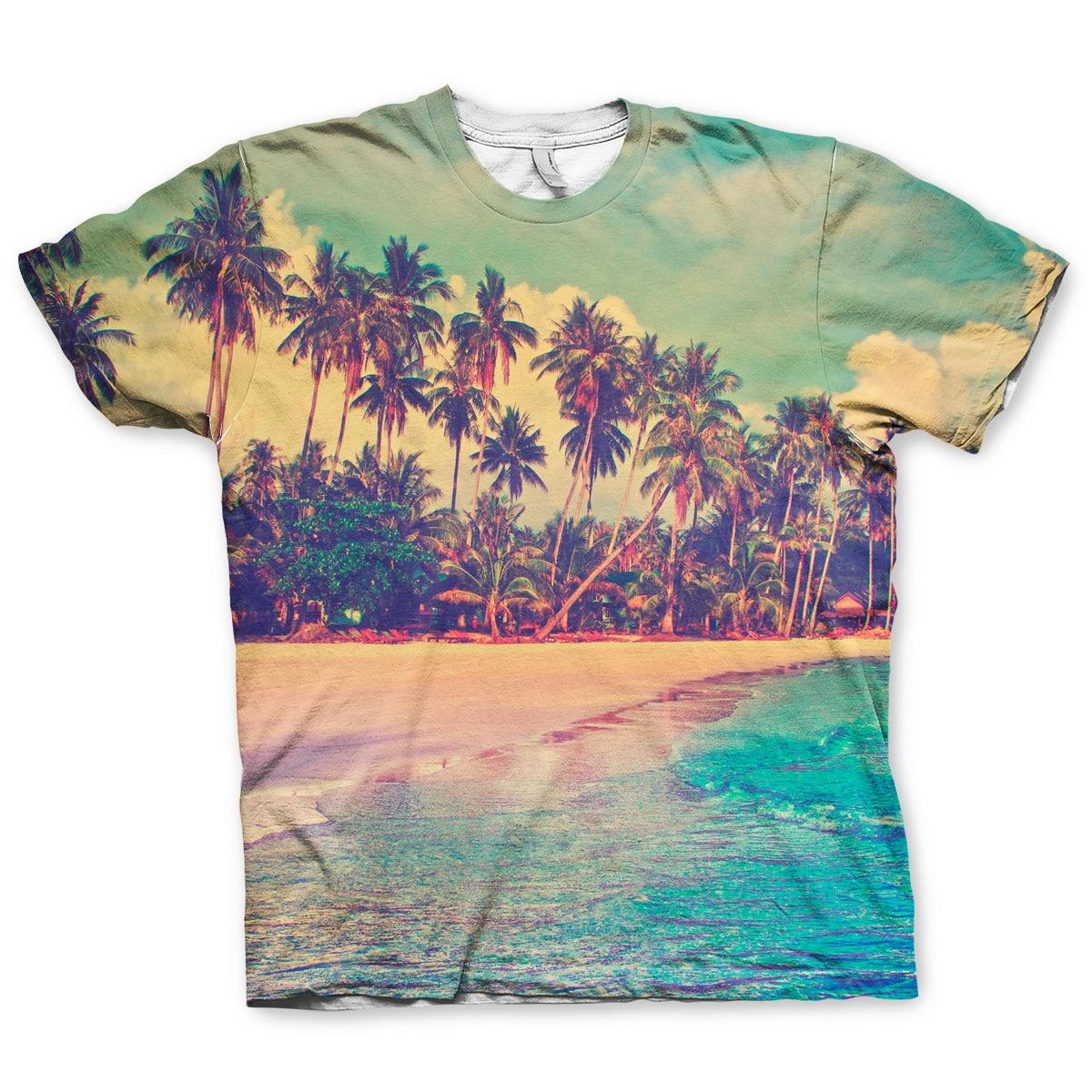 Tropical Allover T-Shirt