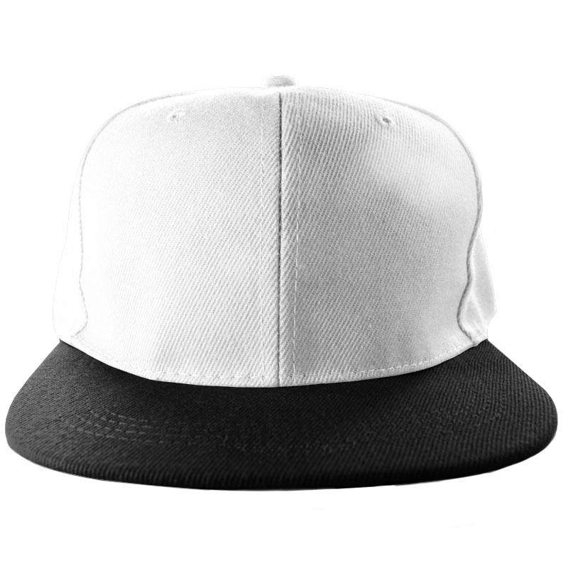 Snapback Cap White/Black