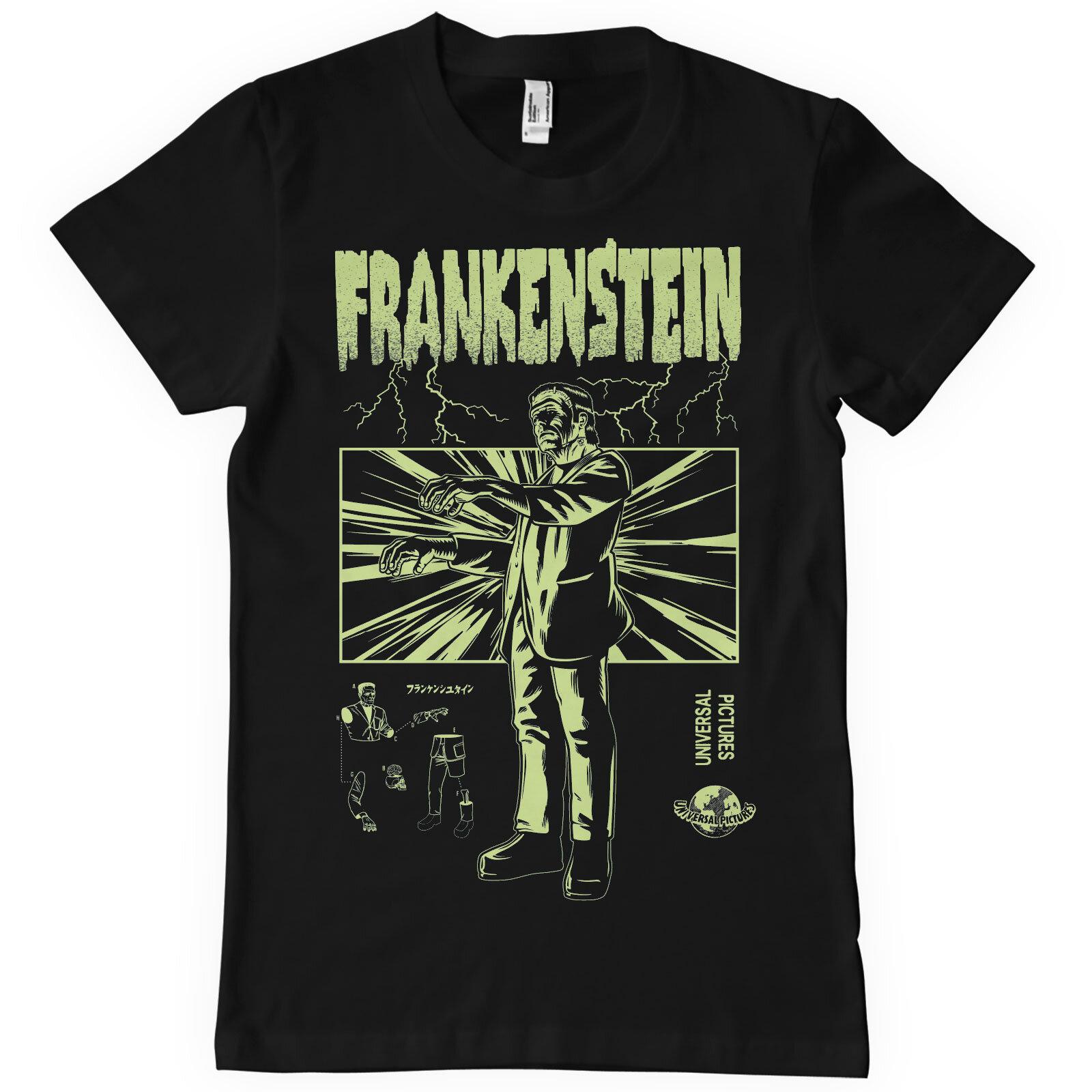 Frankenstein Retro T-Shirt