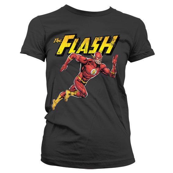 The Flash Running Girly Tee