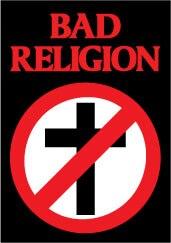 Bad Religion sticker.