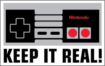 Keep It Real sticker.