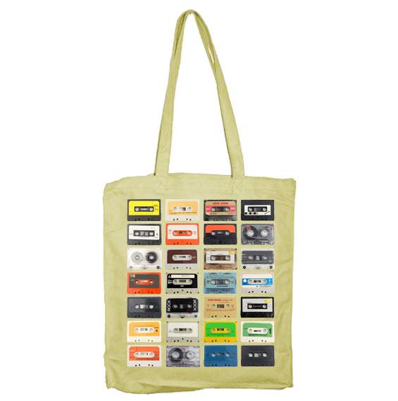 Mixed Tapes Tote Bag